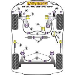 2x KOPPELSTANGE vorne Stabilisator für Land Rover DISCOVERY II//Mk II 1999-2004