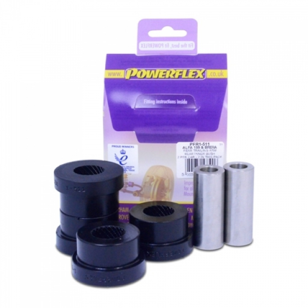 Powerflex Bushes Rear Axle Wishbone Alfa 159 Brera Spider 939 Romeo Sport Performance Polyurethane 6829