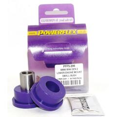 2 x Powerflex PFF5-201G exentrische hintere Buchsen Querlenker Mini R55 R56 R57